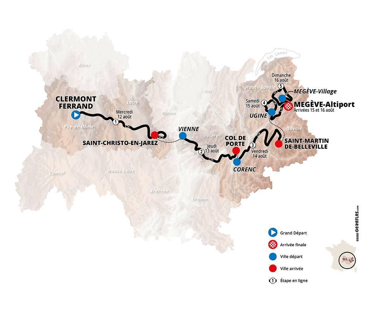 Dauphine route 2020